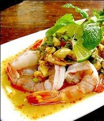 Lindaraxa: Thai Lemon Shrimp In A Sweet Chili Sauce