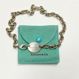Tiffany & Co. Sterling Silver Double-Wrap Bracelet