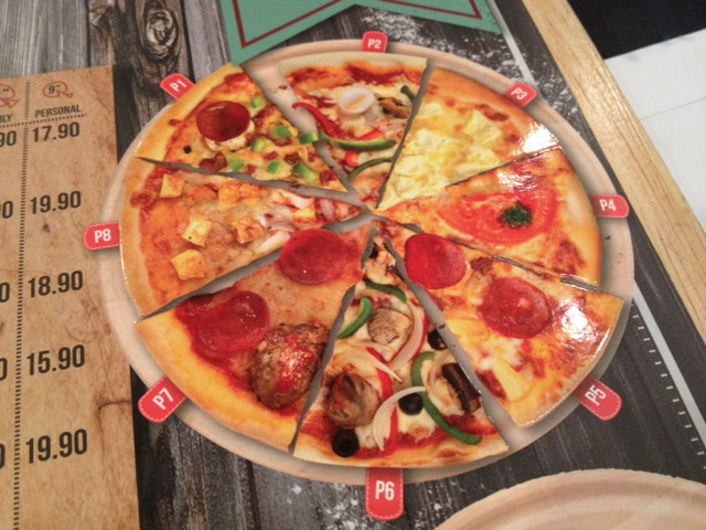 Food Review Pizza and Pasta Halal Capricciosa Sunway Pyramid