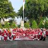 Ratusan Anggota ATNI DIY Upacara Peringati Kemerdekaan RI ke 75