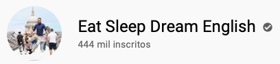 15 canais do YouTube para aprender inglês com falantes nativos -  Eat Sleep Dream English