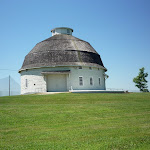 Round Barn on a Hill.JPG
