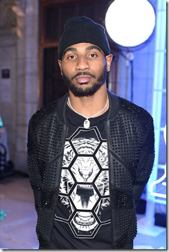 NEW YORK, NY - FEBRUARY 13:  NFL wide receiver Braxton Miller attends the Front Row for the Philipp Plein Fall/Winter 2017/2018 Women's And Men's Fashion Show at The New York Public Library on February 13, 2017 in New York City.  (Photo by Dimitrios Kambouris/Getty Images for Philipp Plein)