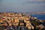 Istanbul: vue sur le Bosphore