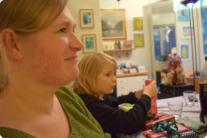 Julehygge hos min mor - december 2016