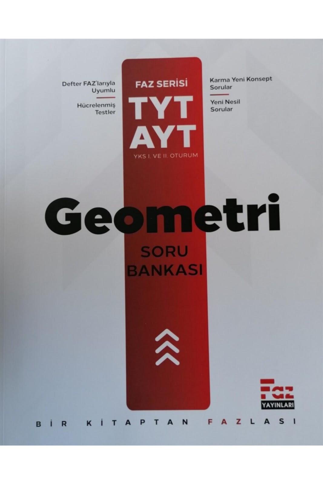 Faz Yayınları - AYT Matematik - Geometri - Defter Serisi