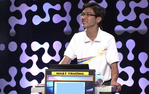 9h30 sang mai dien ra chung ket nam Duong len dinh Olympia 2015 3