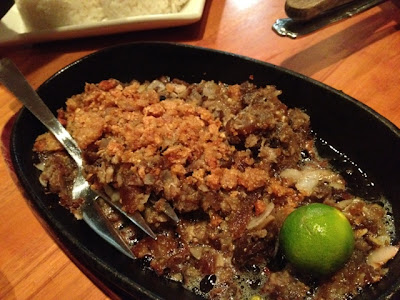 Gerry's Grill, sisig