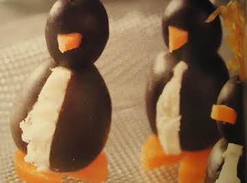 Wonderful Little Cream Cheese Penguins