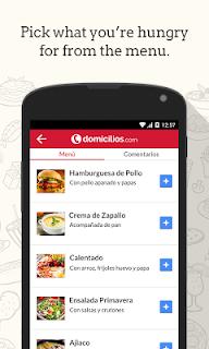 Domicilios.com - Order food screenshot 01