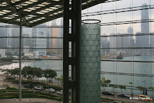 Vue depuis le Hong Kong Convention and Exhibition Center