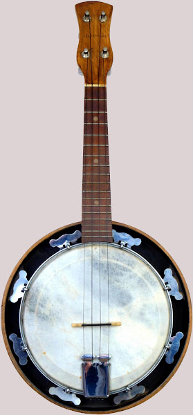 "Old (1950's) GH&S ""Melody-Uke"" Resonator Banjolele Acoustic Soprano"