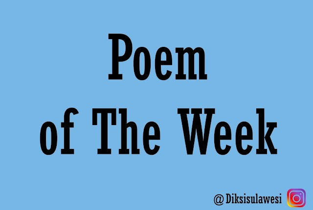 Poem of The Week #18: Shifty-Blue