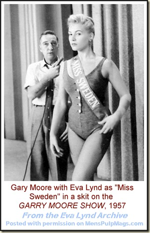 Eva Lynd as Miss Sweden on Garry Moore show 1957