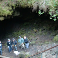 Into the hole, lower cave