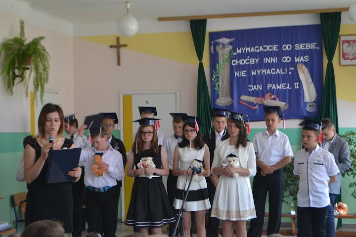 Zakończenie roku szkolnego wChrobrzu