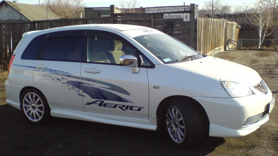 Suzuki Aerio Sx Mpg