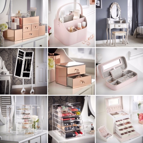 Beautify Worldwide jewelry and makeup storage