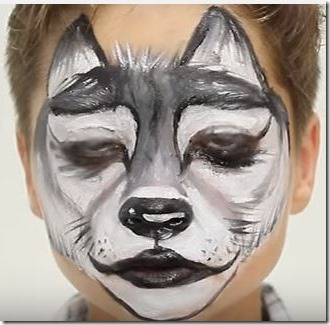 lobo maquillaje 2