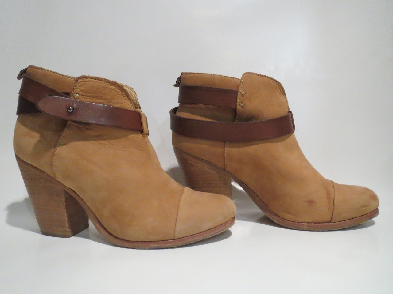 Rag & Bone Tan Booties