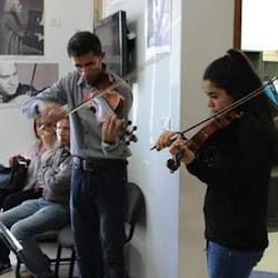 """ביקור ידידי קשת אילון במרכז המוסיקה """"אלקנדי"""" בג"""
