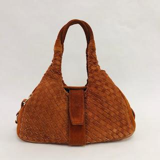 Bottega Veneta Terracotta Shoulder Bag
