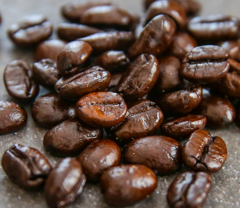 close-up photo of coffee beans