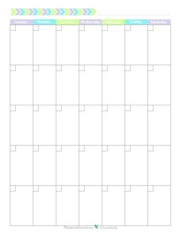 free printalbe 2017 calendar