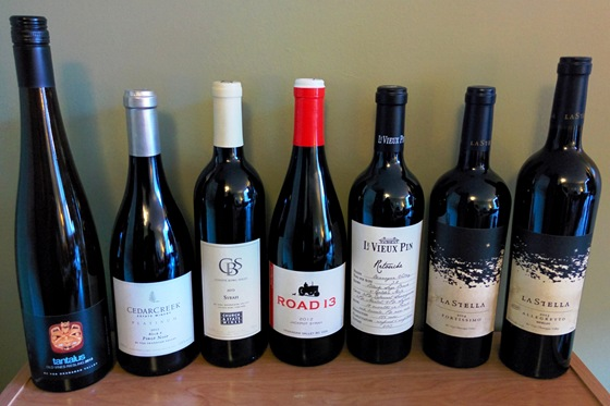 April 2016 BC wine collectibles