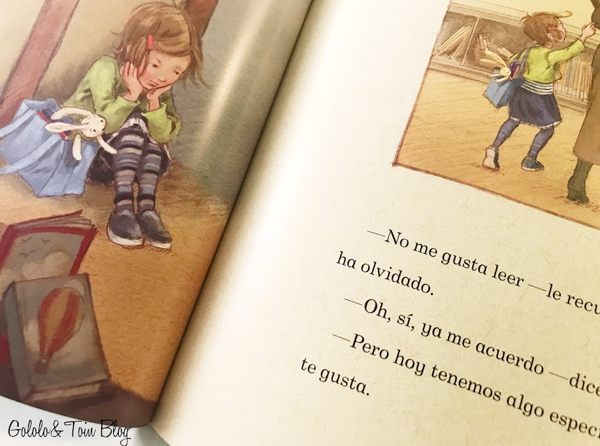 Ilustraciones Aprendiendo a leer