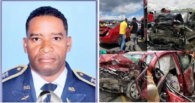 Era del municipio de Enriquillo capitán la Fuerza Aérea fallecido en accidente en Azua