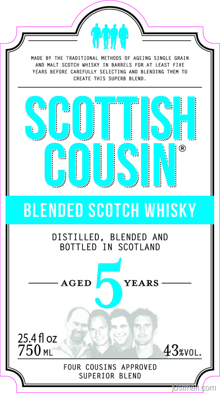 Scottish Cousin 5-Year Blended Scotch Whiskey