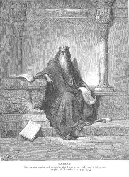 King Solomon In Old Age, King Solomon