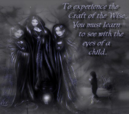 Wiccan Eyes Child, Wicca Girls