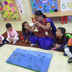 INTRODUCTION TO JELLY FISH FOR NURSERY AT WITTY WORLD ( 02.02.2017)