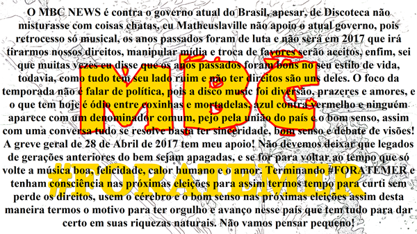 Posicionamento MLUVND ForaTemer 00 MBCNEWS