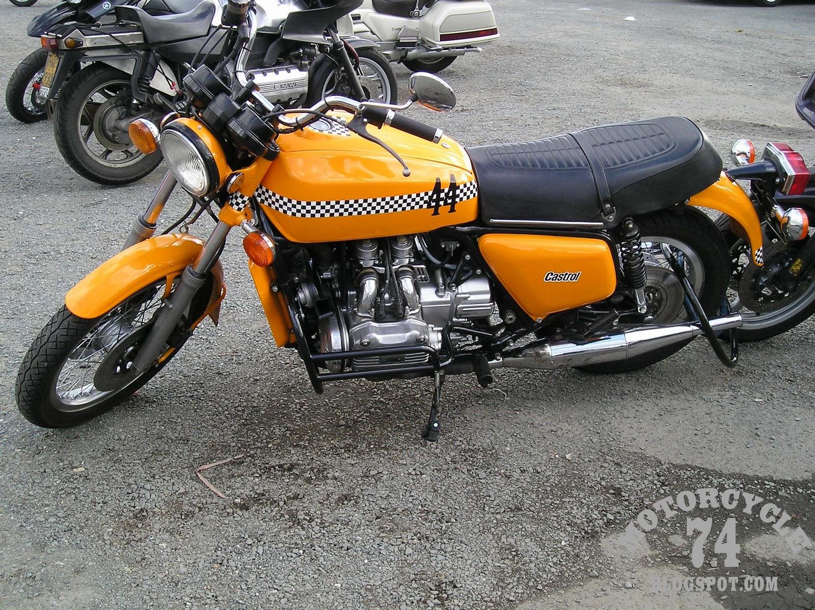 motorcycle 74 cool vintage honda goldwing. Black Bedroom Furniture Sets. Home Design Ideas
