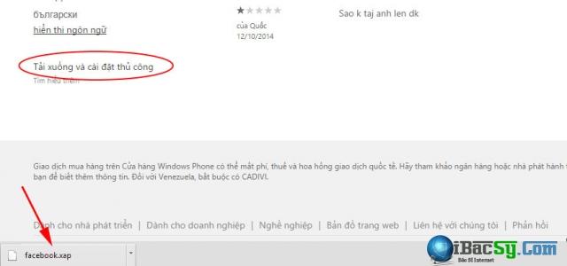 Tải ứng dụng windows phone 8