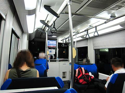 富山ライトレール 富山港線「ポートラム」 TLR0601 車内
