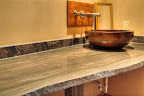 Eramosa Honed Vein Cut Countertop