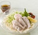 Hiyashi Shabu Udon Cold Noodle Soup
