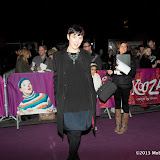 WWW.ENTSIMAGES.COM -  Olivia Williams  arriving  at  Cirque Du Soleil: Kooza VIP Royal Albert Hall London January 8th 2013                                                       Photo Mobis Photos/OIC 0203 174 1069