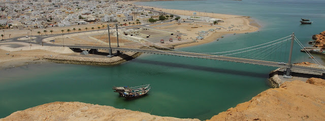 Scenic Shipbuilding town of Sur in Oman