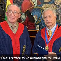 La UMSA otorga el título de Doctor Honoris Causa a HCF Mansilla