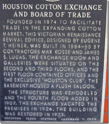 Houston Cotton Exchange