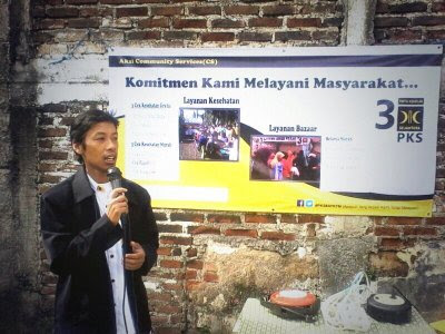 Eko Kurnianto W hadir di acara community service