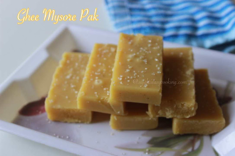 Ghee Mysore Pak2