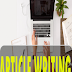 I will write 1000 words article writing/content writing/blog writing in any topic.