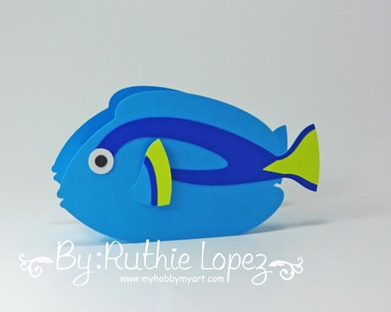 Nemo - Dory - Buscando a Nemo - Buscando a Dory - Finding Dory - Finding Nemo - Ruthie Lopez - My Hobby My Art 3
