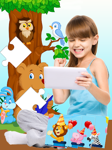 54 Animal Jigsaw Puzzles for Kids ud83eudd80 screenshots 7